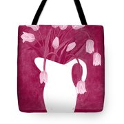 Ashes Of Roses Tulips Tote Bag