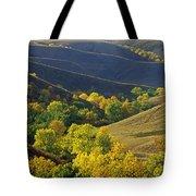 Aspen Bluffs In Autumn Colors Tote Bag