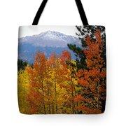Aspen Grove And Pikes Peak Tote Bag