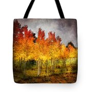 Aspen Grove In Autumn Tote Bag