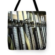 Assault Rifles Stand Ready Tote Bag