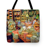 Assorted China Fishs Eddy New York City Tote Bag
