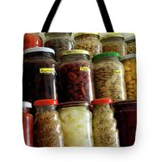 Assorted Spices Tote Bag by Carlos Caetano