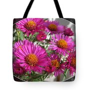 Aster Named September Ruby Tote Bag