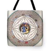 Astrologer In The Zodiac Tote Bag by Science Source