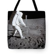 Astronaut During Apollo 11 Tote Bag