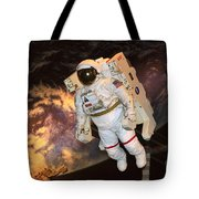 Astronaut In A Space Suit Tote Bag