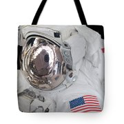Astronauts Helmet Visor Tote Bag