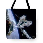 Astronauts Tote Bag