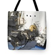 Astronauts Participate Tote Bag