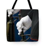At Attention Tote Bag