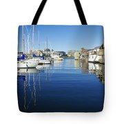 At Fisherman's Wharf Tote Bag