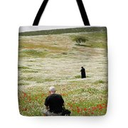 At Lachish's Magical Fields Tote Bag