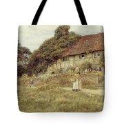 At Stedham Near Midhurst Tote Bag by Helen Allingham