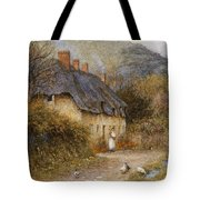 At Symondsbury Near Bridport Dorset Tote Bag