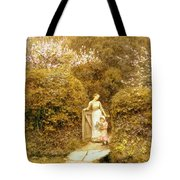 At The Cottage Gate Tote Bag