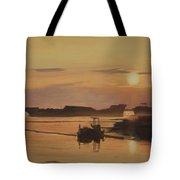 At The End Of It's Day Tote Bag by Tammy Taylor