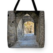 At The End Of The Passageway Tote Bag