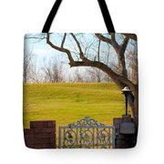 At The Levee Tote Bag
