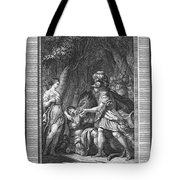 Atalanta And Meleager Tote Bag