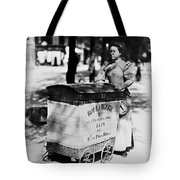 Atget: Delivering Bread Tote Bag