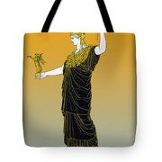 Athena, Greek Goddess Tote Bag