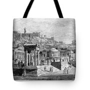 Athens: Marketplace Tote Bag