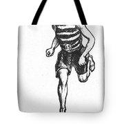 Athletics: Runner, C1900 Tote Bag