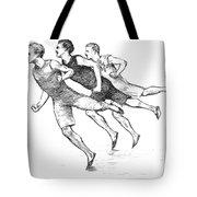 Athletics: Track, 1890 Tote Bag by Granger