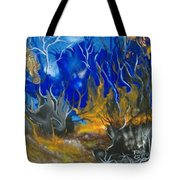 Atlantean Seascape Tote Bag