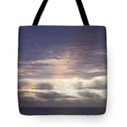Atlantic Ocean Sunrise 1 Tote Bag