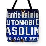 Atlantic Refining Co Sign Tote Bag