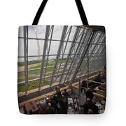 Atlantis Shuttle Liftoff, Viewed Tote Bag