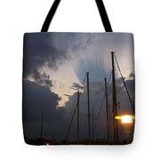 Atmospheric Phenomenon Tote Bag