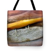Atom A40 Vintage Saltwater Lure - Whiting Gold Tote Bag