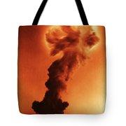 Atomic Bomb Explosion Tote Bag