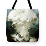Atomic Bombing Of Nagasaki Tote Bag
