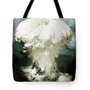 Atomic Bombing Of Nagasaki Tote Bag by Science Source