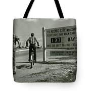 Atomic City Tennessee In The Fifties Tote Bag