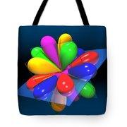 Atomic Orbitals Tote Bag