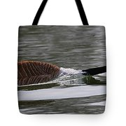 Attack Of The Canadian Geese Tote Bag