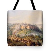 Attack On Stocks Kraall In The Fish River Bush Tote Bag