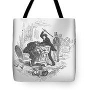 Attack On Sumner, 1856 Tote Bag by Granger