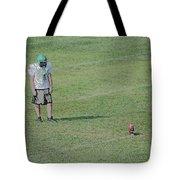 Attentiveness Digital Art Tote Bag
