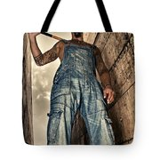 Attitude Tote Bag by Stelios Kleanthous