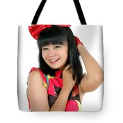Attractive Young Woman  Tote Bag