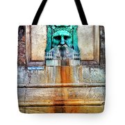 Au Non Potable A Fountain In Arles Tote Bag