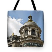 Au Printemps - Paris Tote Bag