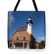 Au Sable Lighthouse 7 Tote Bag