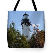 Au Sable Lighthouse 8 Tote Bag